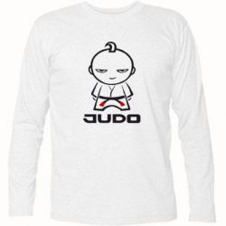 Футболка с длинным рукавом Judo Fighter - FatLine