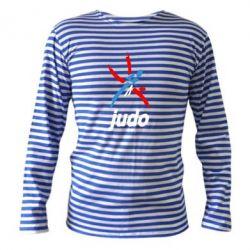 Тельняшка с длинным рукавом Judo Logo - FatLine