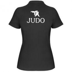 Женская футболка поло Judo - FatLine