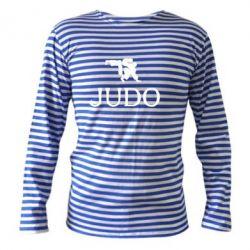 Тельняшка с длинным рукавом Judo - FatLine