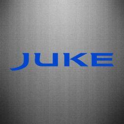 Наклейка Juke - FatLine