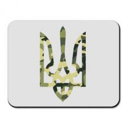 Коврик для мыши Камуфляжный герб Украины - FatLine