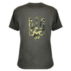 Камуфляжная футболка Камуфляжный герб Украины - FatLine