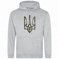 Толстовка Камуфляжный герб Украины - FatLine
