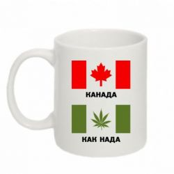Кружка 320ml Канада Как надо - FatLine
