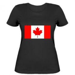 Женская футболка Канада - FatLine