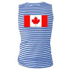 Майка-тельняшка Канада - FatLine