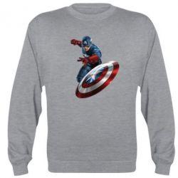 Реглан Капитан Америка - FatLine