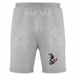 Мужские шорты Капитан Америка - FatLine