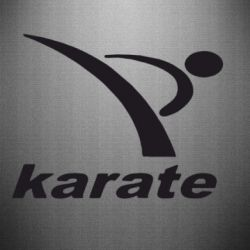 Наклейка Karate - FatLine