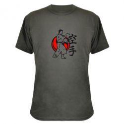 Камуфляжная футболка Каратэ - FatLine