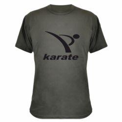 Камуфляжная футболка Karate - FatLine