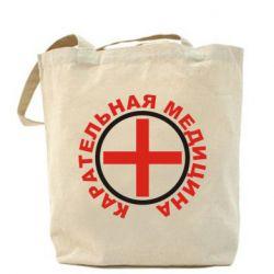 Сумка Карательная медицина лого - FatLine