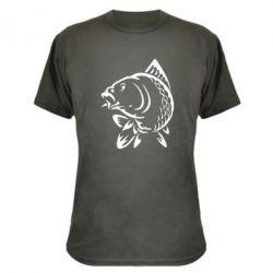 Камуфляжная футболка Карп - FatLine