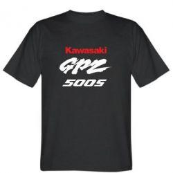Мужская футболка Kawasaki GPZ500S - FatLine