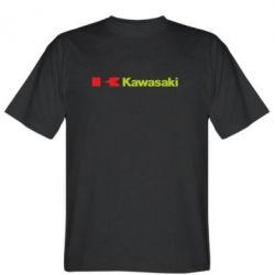 Мужская футболка Kawasaki Logo - FatLine