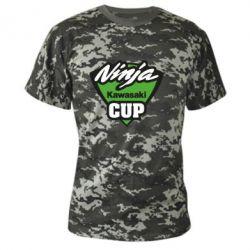 Камуфляжная футболка Kawasaki Ninja Cup