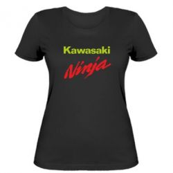 Женская футболка Kawasaki Ninja - FatLine