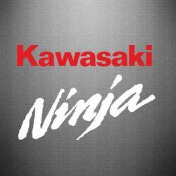 Наклейка Kawasaki Ninja - FatLine