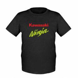 Детская футболка Kawasaki Ninja - FatLine