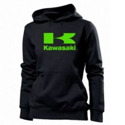 Женская толстовка Kawasaki - FatLine