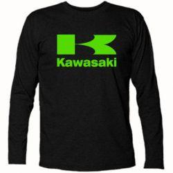 Футболка с длинным рукавом Kawasaki - FatLine
