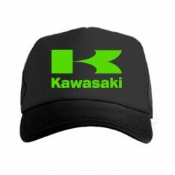 Кепка-тракер Kawasaki - FatLine