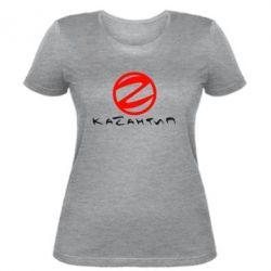 Женская футболка Казантип - FatLine