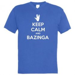������� ��������  � V-�������� ������� Keep Calm and Bazinga