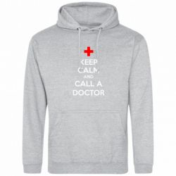 Толстовка KEEP CALM and CALL A DOCTOR - FatLine