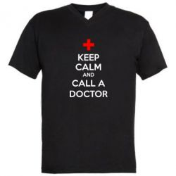������� ��������  � V-�������� ������� KEEP CALM and CALL A DOCTOR - FatLine