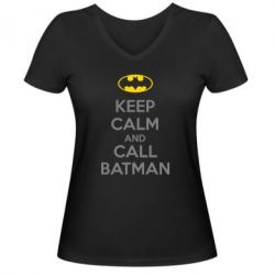 ������� �������� � V-�������� ������� KEEP CALM and CALL BATMAN - FatLine