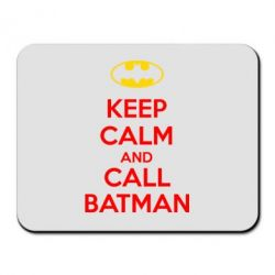 Коврик для мыши KEEP CALM and CALL BATMAN - FatLine