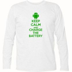 �������� � ������� ������� KEEP CALM and CHARGE BATTERY - FatLine