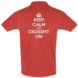 Футболка Поло Keep Calm and CrossFit on - FatLine