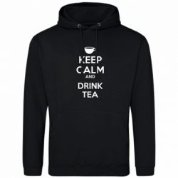 Толстовка KEEP CALM and drink tea - FatLine