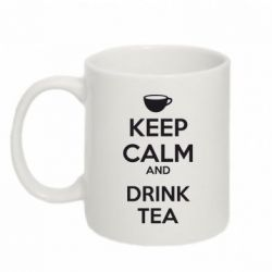 Кружка 320ml KEEP CALM and drink tea - FatLine