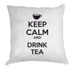 Подушка KEEP CALM and drink tea - FatLine
