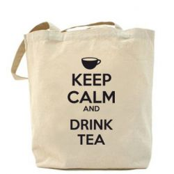 Сумка KEEP CALM and drink tea - FatLine