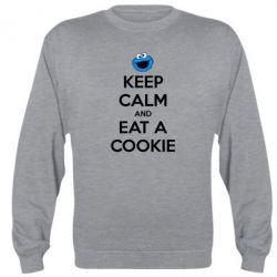 Реглан Keep Calm and Eat a cookie - FatLine