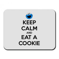 Коврик для мыши Keep Calm and Eat a cookie - FatLine