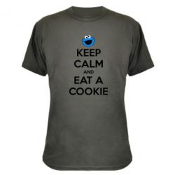 ����������� �������� Keep Calm and Eat a cookie - FatLine
