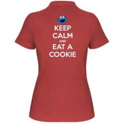 ������� �������� ���� Keep Calm and Eat a cookie - FatLine
