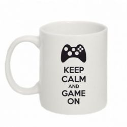 Кружка 320ml KEEP CALM and GAME ON - FatLine