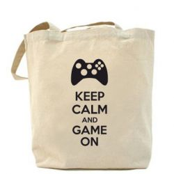 Сумка KEEP CALM and GAME ON - FatLine