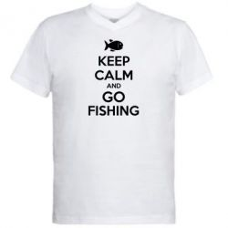 ������� ��������  � V-�������� ������� Keep Calm and go fishing