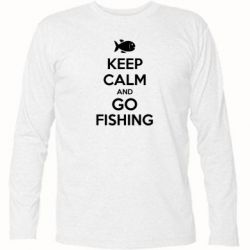 �������� � ������� ������� Keep Calm and go fishing - FatLine