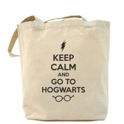 Сумка KEEP CALM and GO TO HOGWARTS - FatLine