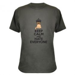 ����������� �������� KEEP CALM and HATE EVERYONE - FatLine