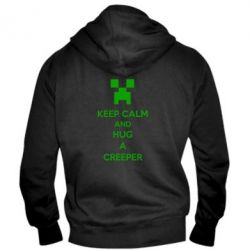 ������� ��������� �� ������ KEEP CALM and HUG A CREEPER